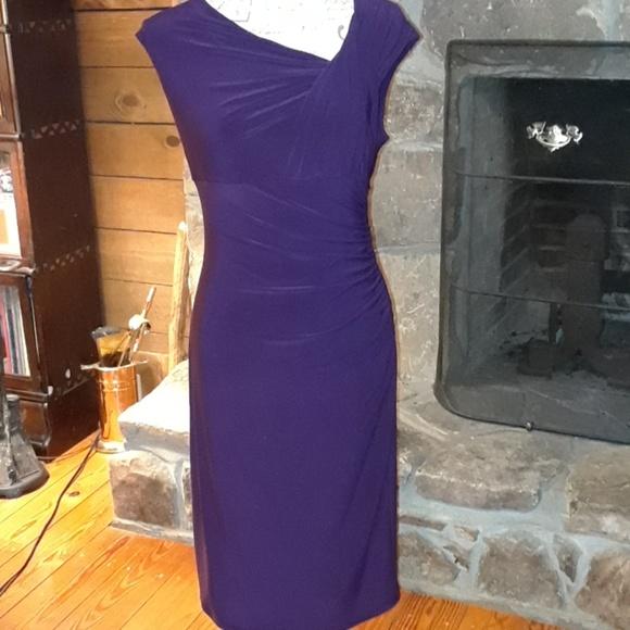 Lauren Ralph Lauren Dresses & Skirts - Lauren Ralph Lauren eggplant dress